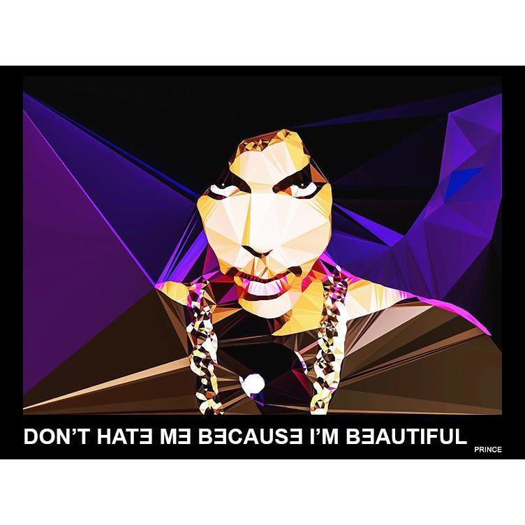 Prince #1 by Baiba Auria - signed art print with quote - Egoiste Gallery