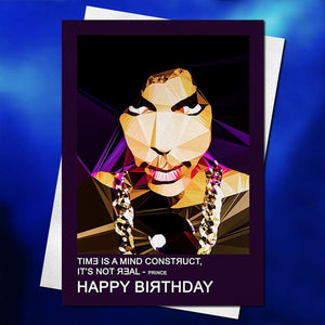 Prince 1 Birthday Card By Baiba Auria