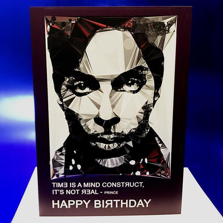 Prince #2 birthday card by Baiba Auria - Egoiste Gallery - Art Gallery in Manchester City Centre