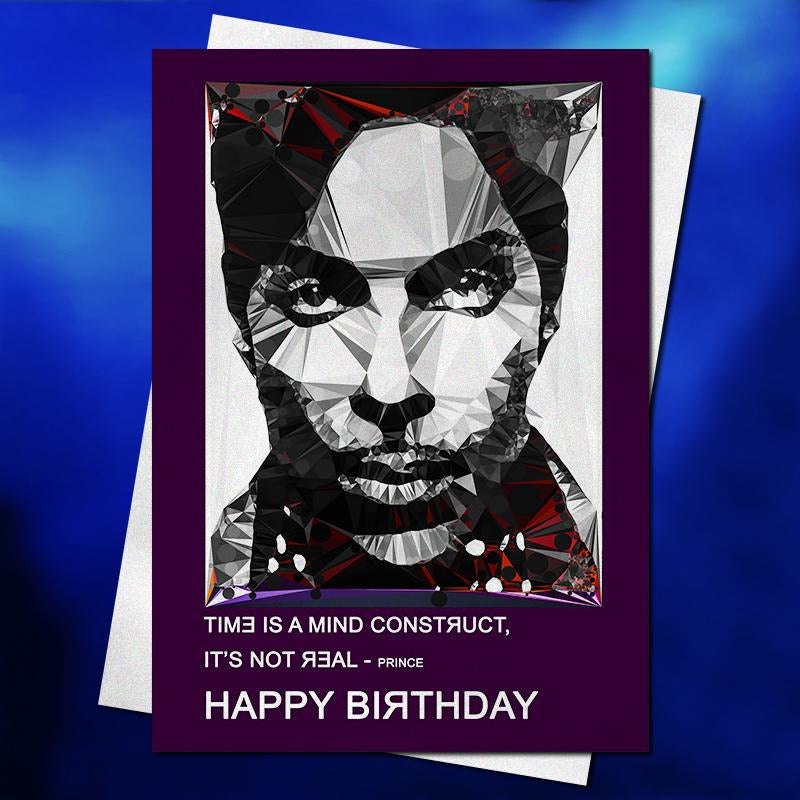 Prince #2 birthday card by Baiba Auria - Egoiste Gallery