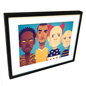The Prodigy by Stanley Chow - Signed and stamped fine art print - Egoiste Gallery - Art Gallery in Manchester City Centre