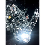 Rhino by Dark Mark - mirror mosaic trophy head sculpture - for Pre Order only