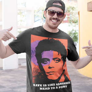 Lou Reed by Baiba Auria: Short-Sleeve Unisex T-Shirt - Egoiste Gallery - Art Gallery in Manchester City Centre