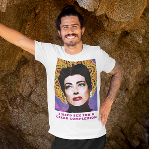 Joan Crawford by Baiba Auria: Short-Sleeve Unisex T-Shirt - Egoiste Gallery - Art Gallery in Manchester City Centre