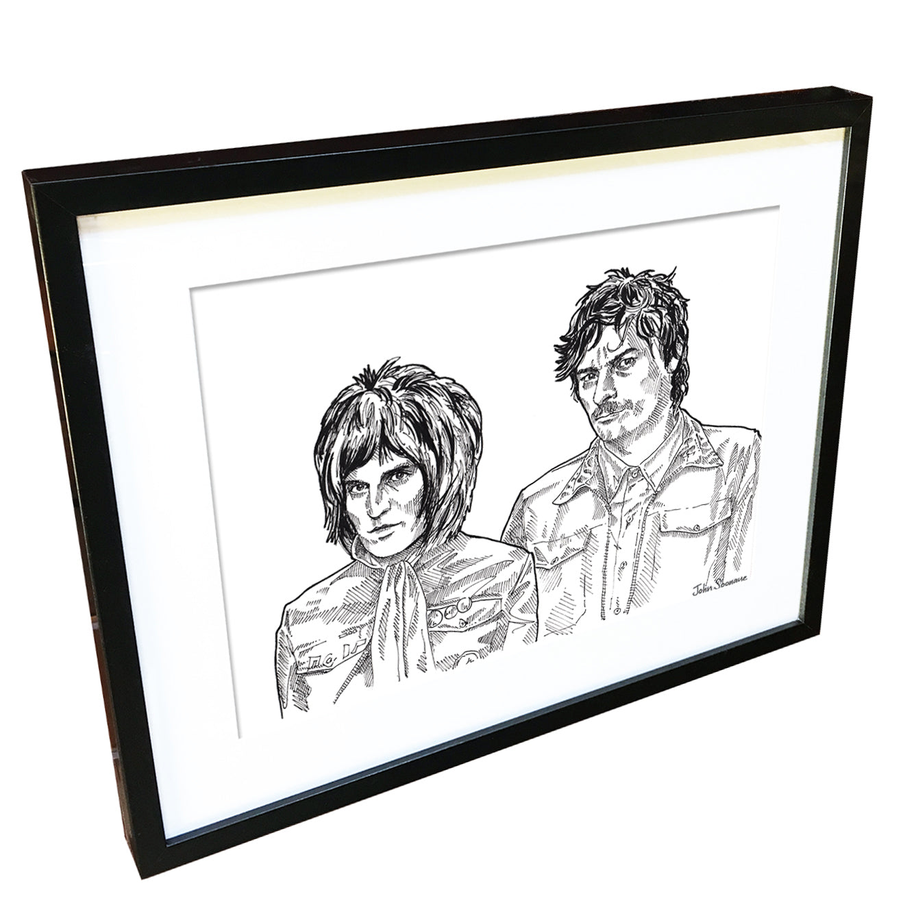 The Mighty Boosh by John Soonaye - signed fine art print - Egoiste Gallery