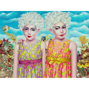 Twins by Liva Pakalne Fanelli - fine art print - Egoiste Gallery - Art Gallery in Manchester City Centre