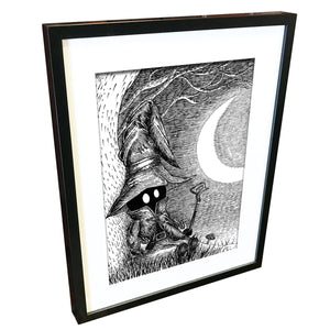 Vivi by Jon Turner - signed archival Giclée print - Egoiste Gallery - Art Gallery in Manchester City Centre