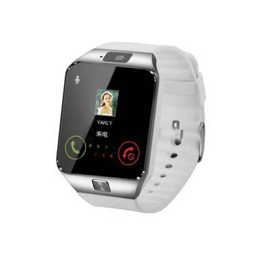 DZ09 Gold Orange White Black Smartwatch Bluetooth IOS Android Iphone SIM Card Camera 1.56Inch