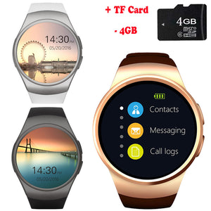 Smartwatch Can Insert Bluetooth Earphone Heart Rate SIM Card PK for Xiaomi Watch Huawei