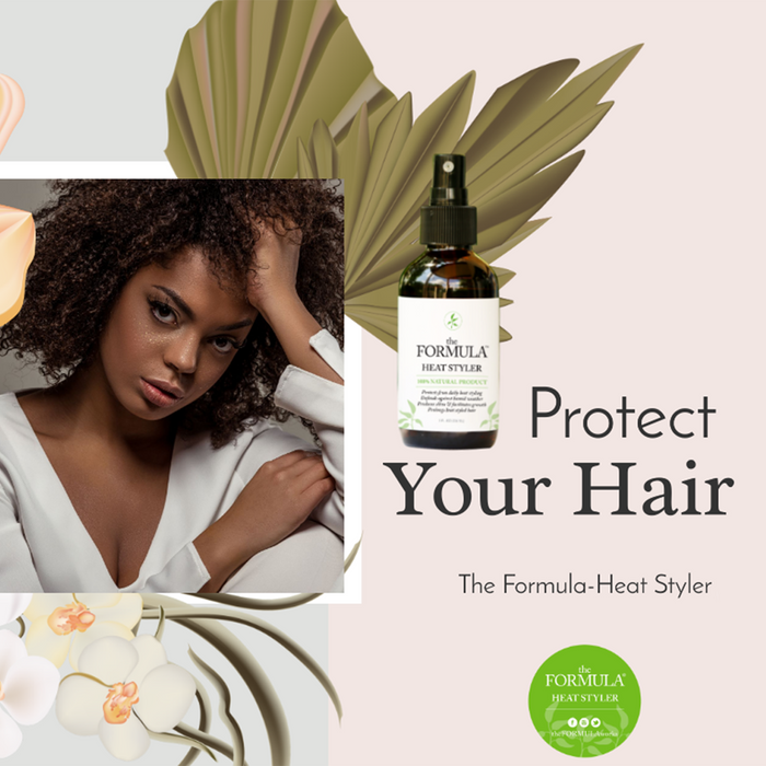 Why the Formula Heat Styler is going to do more for your hair than any other heat protectant spray