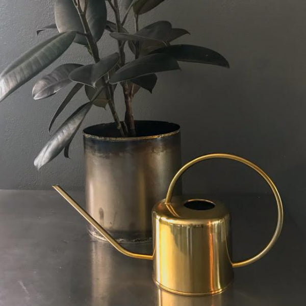 Gold Watering Can - Flower Bar