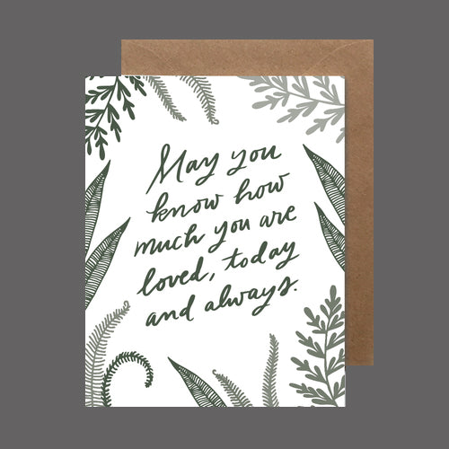How Much You Are Loved Card by Heartswell - Flower Bar