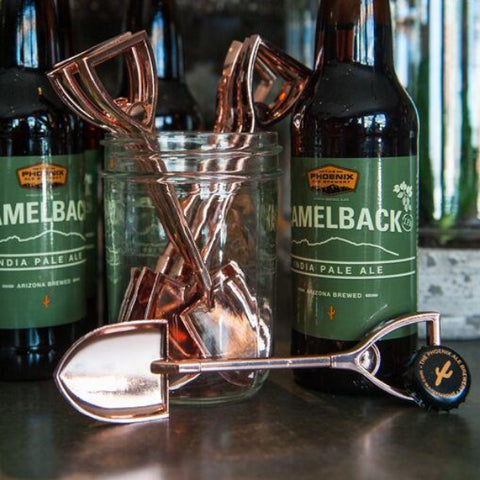 Copper Shovel Bottle Opener