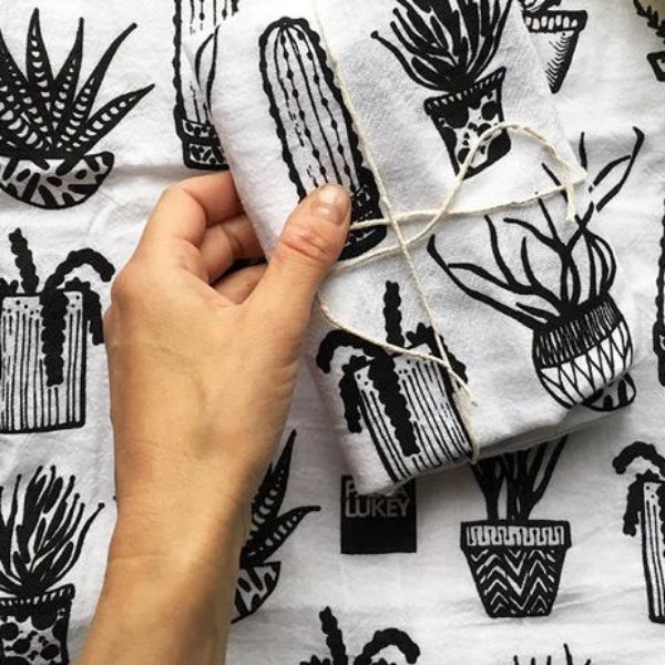 Tea Towel by Paula Lukey - Flower Bar
