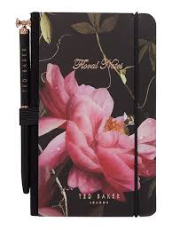 """floral notes"" Notebook+Pen - Flower Bar"