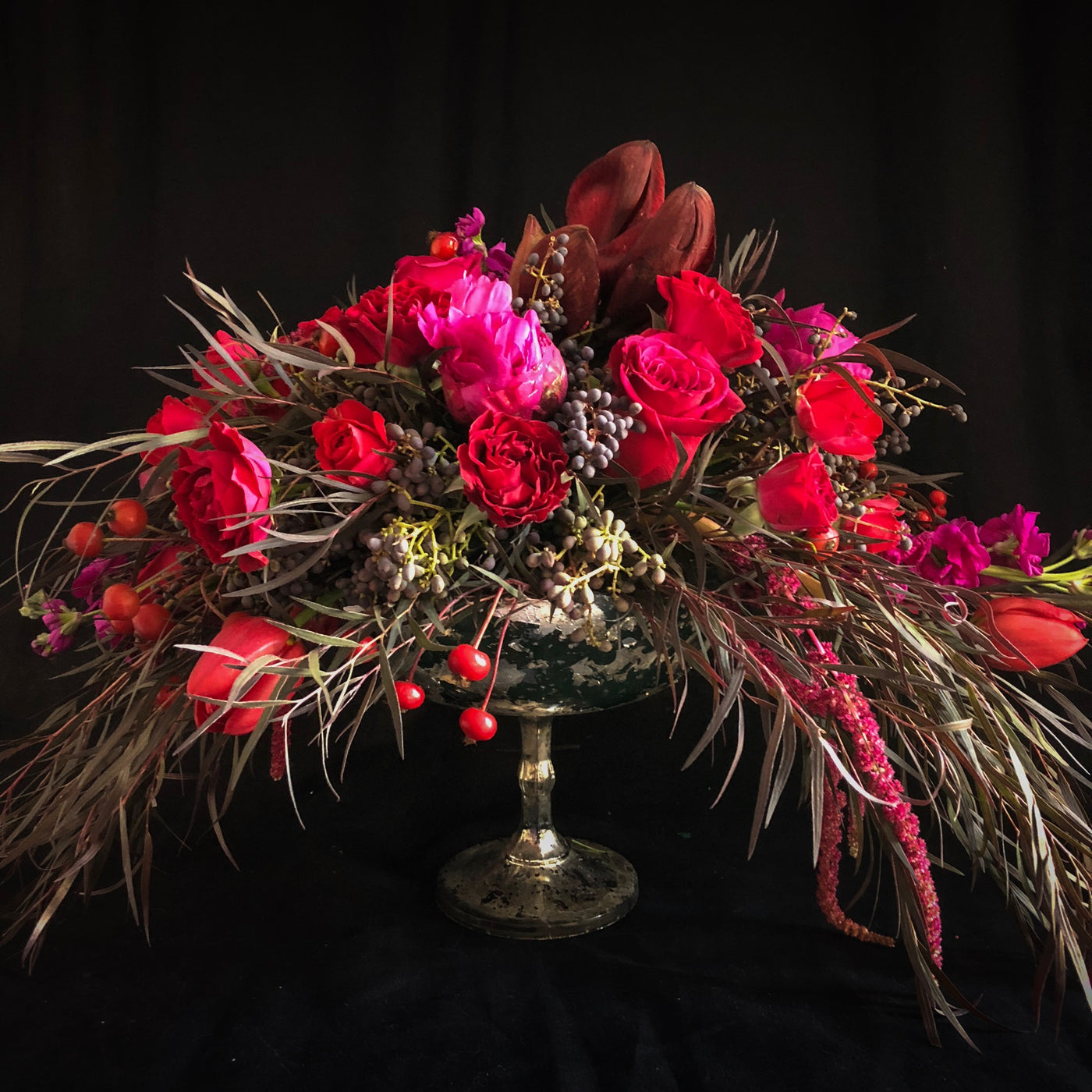 Mulled Wine Arrangement - Flower Bar