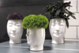 Ceramic Head Vase - Flower Bar