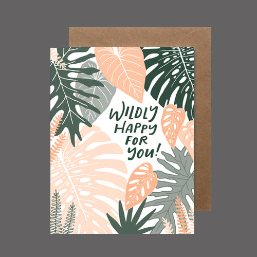 Wildly Happy For You - heartswell - - Flower Bar
