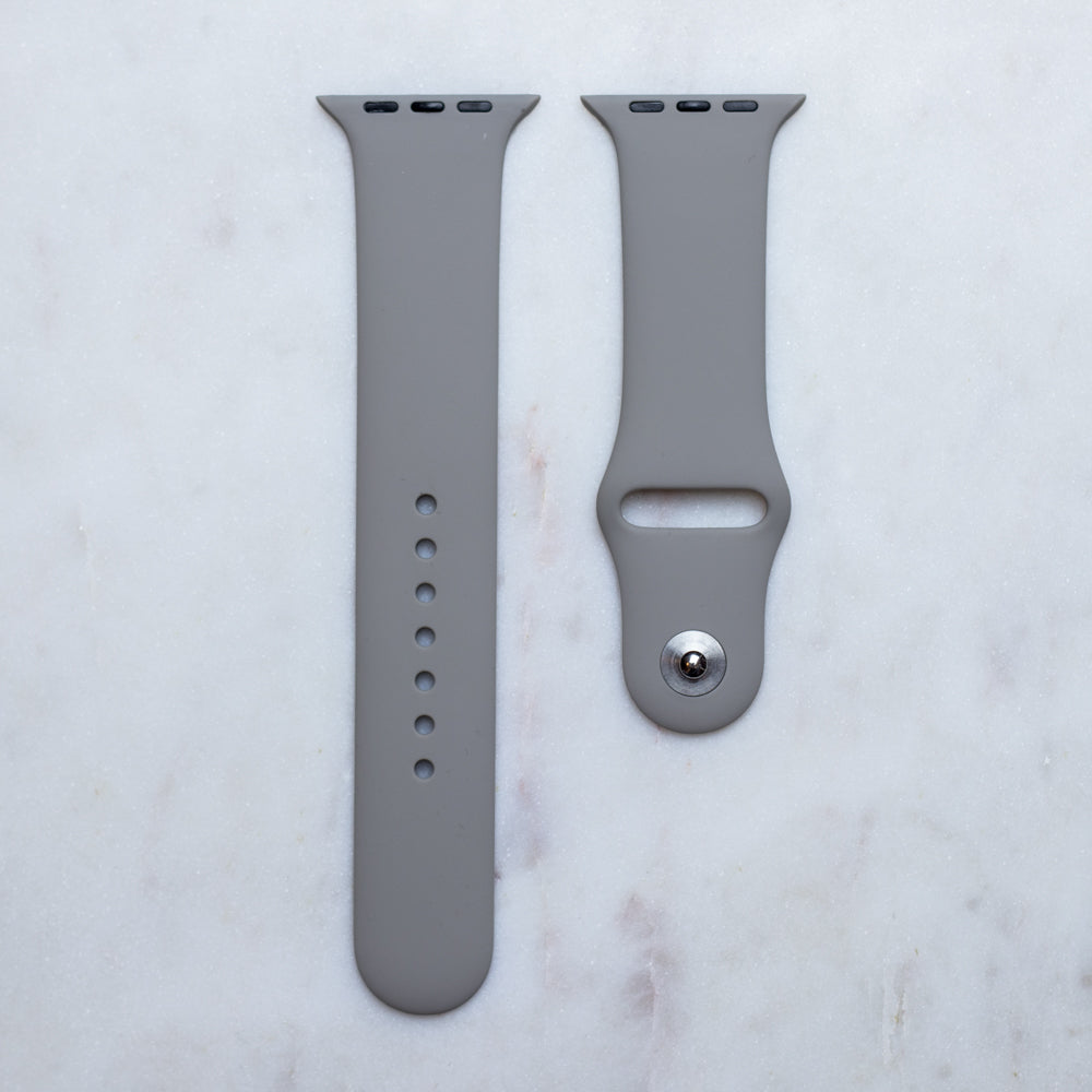 Szürke Apple Watch óraszíj - óraszíj Strap.hu