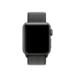 Fekete Sport Apple Watch óraszíj - óraszíj Strap.hu