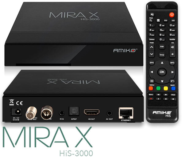 Amiko a4 android 4k receiver
