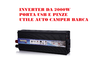 POWER-INVERTER-DA-2000W-12V/220V-AUTO-CAMPER
