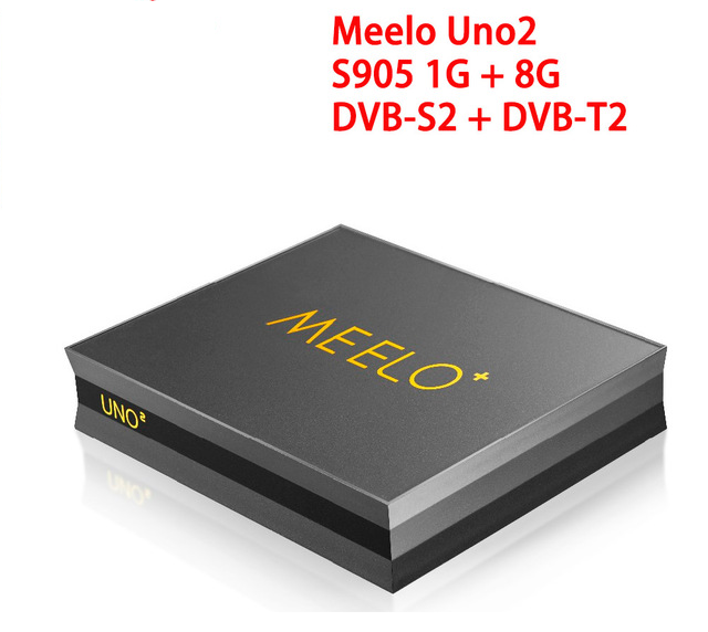 TV Box Meelo+ uno2 DVB-T2 DVB-S2 Android 5.1 1GB/8GB Amlogic S905