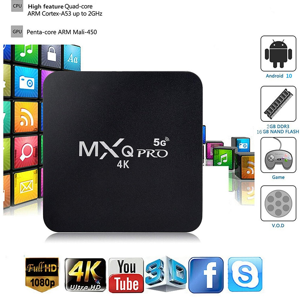 Tv Box android MXQ Pro 1Gb + 8Gb Android 7.1