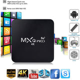 MXQ PRO 4K 4GB BOX XBMC Android 10 WiFi 16GB MiniPC