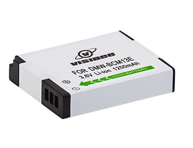 Rechargeable Panasonic 1250mAh DMW-BCM13E Li-Ion Battery - Visibee