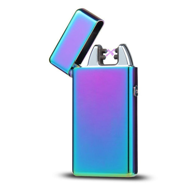 Rechargeable Double ARC Flameless Plasma Lighter - Visibee