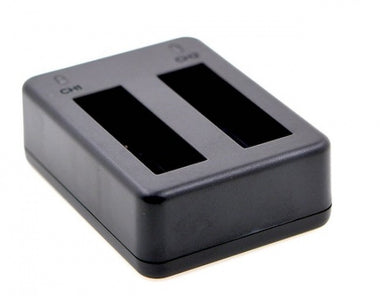 2-Channel Battery Charger for GoPro HERO 4 Camera - Visibee