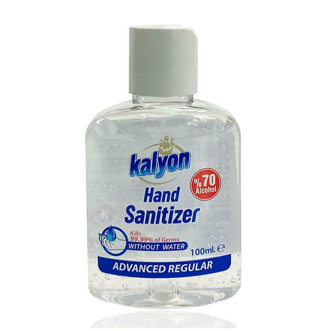 Anti-Bacterial 100ml Disinfectant hand Sanitiser Gel 70% Alcohol