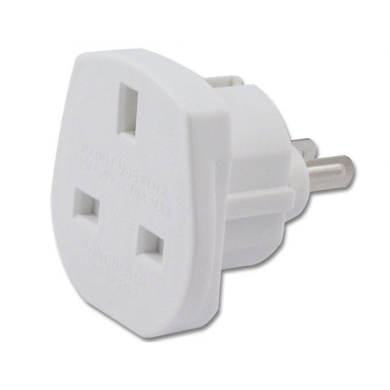 Traveller Adaptor 3 Pin UK to 2 Pin USA/Canada/Australia - Visibee