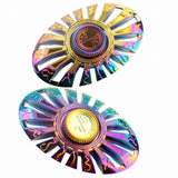 Colorful 3D Metal Steel Hand Finger Fidget Spinner - Visibee