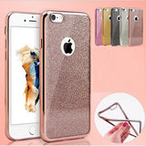 Bling Glitter Ultra Thin Soft Gel Case For Apple iPhone - Visibee