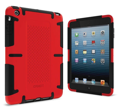Cygnett Shock Absorbing Dual Material Case Apple iPad Mini 1 2 & 3 - Visibee