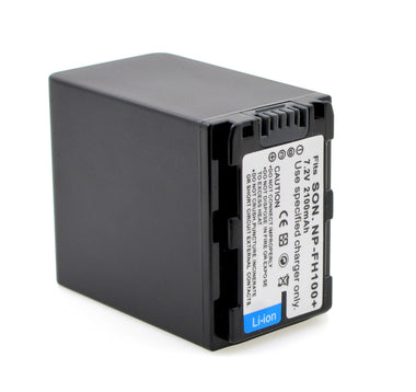 Sony NP-FH100 HandyCam Replacement Battery 2100mAH 7.20V - Visibee