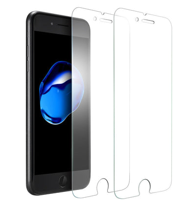 Visibee - [Pack of 2] Screen Protector Tempered Glass for New Apple iPhone 8 - Visibee