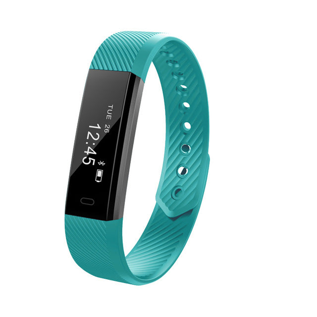 ID115 HR Smart Band with Activity Fitness Tracker and Heart Rate Monitor