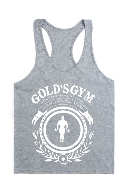 Gold's Gym Men's Tank Tops for Bodybuilding and Training