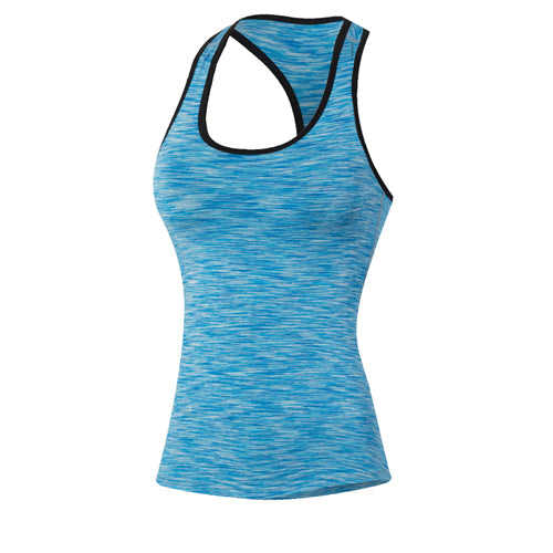 Girls Skinny Sportswear Gym Compression Tank Top