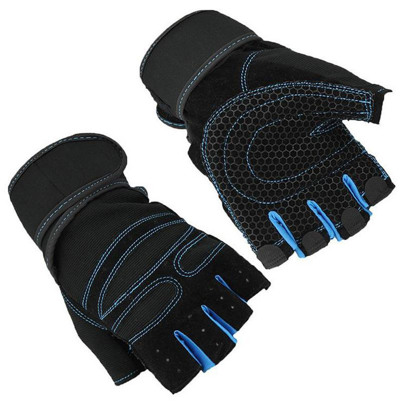 Men/Women Half Finger Power lifting Gym Gloves