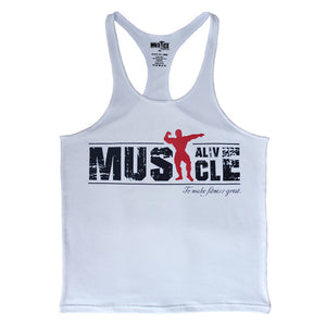 2018 Muscle Bodybuilding Brand Tank Top for Men