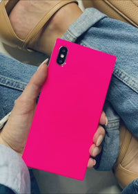 "[""Neon"", ""Pink"", ""Square"", ""iPhone"", ""Case""]"