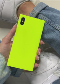 "[""Neon"", ""Yellow"", ""Square"", ""iPhone"", ""Case""]"