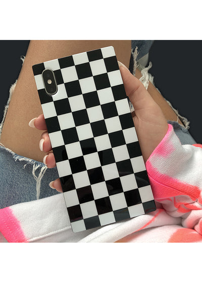 Checkered Square iPhone Case #iPhone 12 Mini
