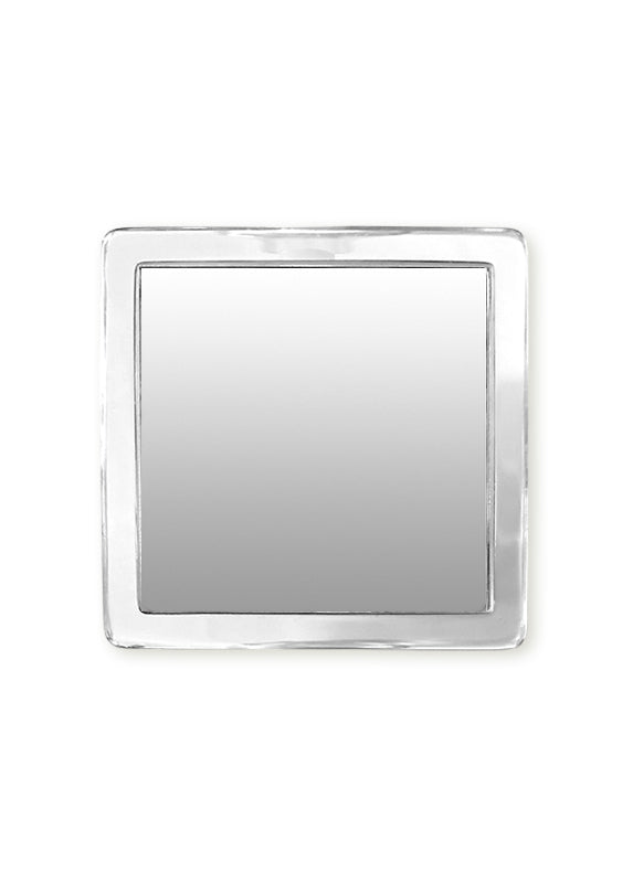 Clear Lucite Square Phone Mirror - Shop/Phone Mirrors - iDecoz