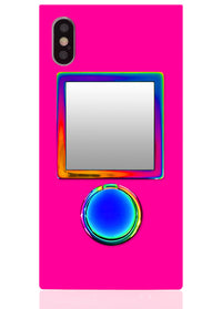"[""Iridescent"", ""Square"", ""Phone"", ""Mirror""]"