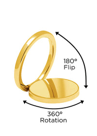 Gold Phone Ring - Shop/Phone Rings - iDecoz